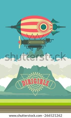 vector illustration aircraft