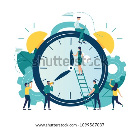 vector illustration  alarm