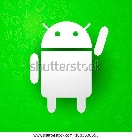 vector illustration android