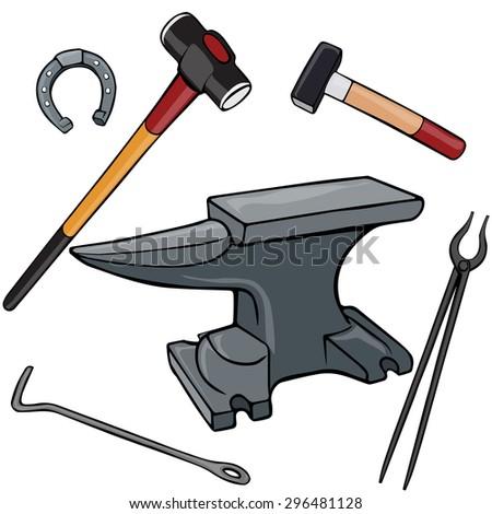 blacksmith hammer clip art free vector 4vector