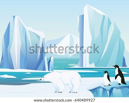 vector illustration arctic