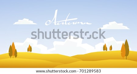 stock-vector-vector-illustration-autumn-cartoon-landscape