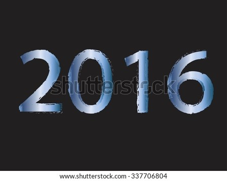 Vector illustration background New Year  #337706804