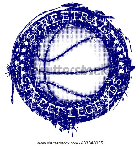 vector illustration basketball