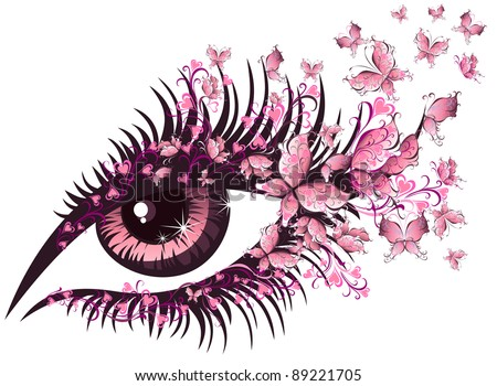 vector illustration beautiful
