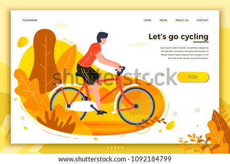 vector illustration   bicycle