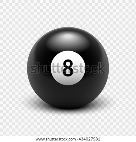 vector illustration billiards