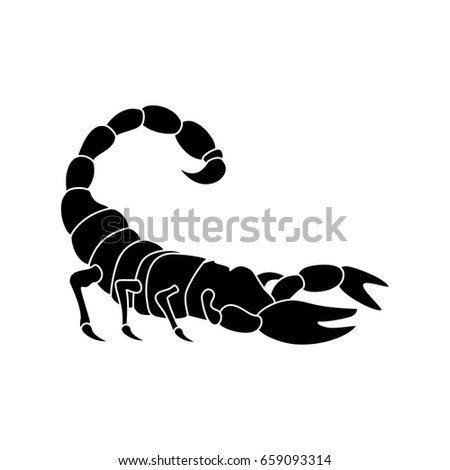 vector illustration black