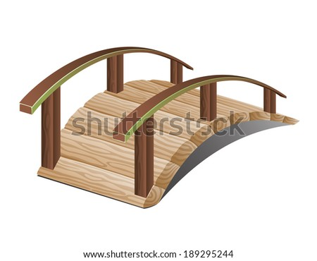 vector illustration bridge