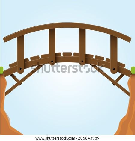 vector illustration bridge