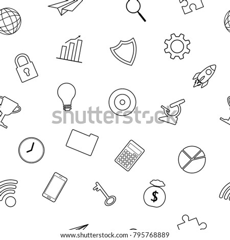 vector illustration business