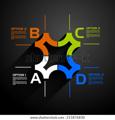 vector illustration business infographics ,  workflow layout , scheme of work