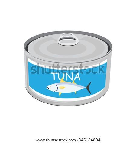 Tuna fish can label - photo#22