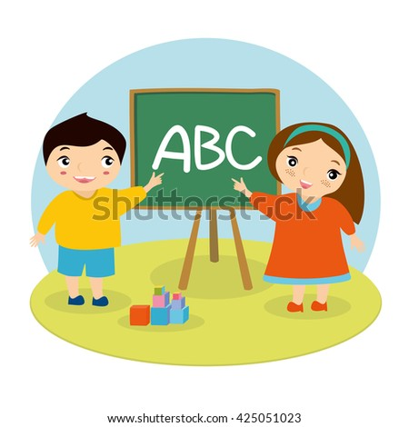 vector illustration children's