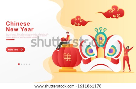 vector illustration chinese new