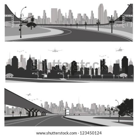 vector illustrationcity