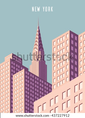 vector illustration cityscape