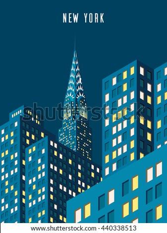 vector illustration cityscape
