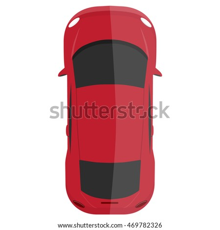 vector illustration classic red