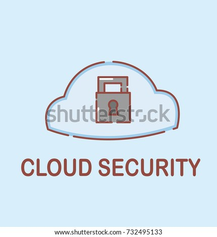 vector illustration cloud