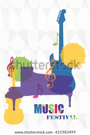vector illustration colorful