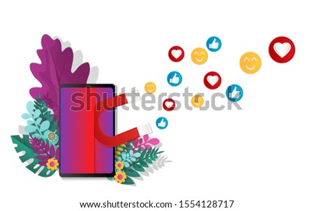 vector illustration concepts from paper art styles for digital marketing, social campaigns