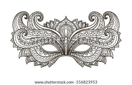 colorful masquerade mask vectors download free vector art stock