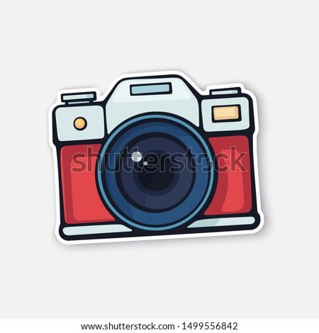 vector illustration cute film