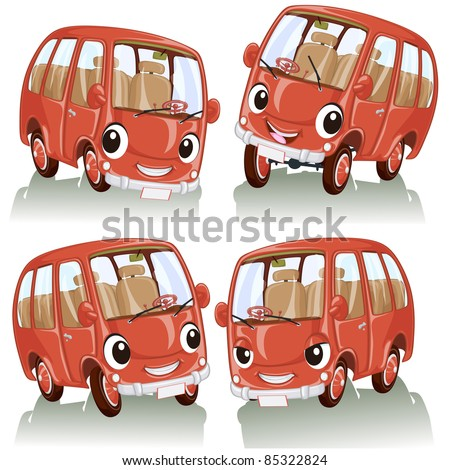 vector illustration  cute funny
