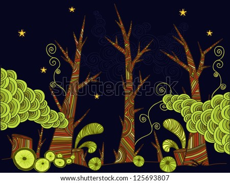 vector illustration  decorative