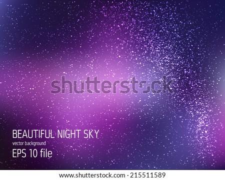 vector illustration   deep sky