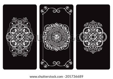 Stock Photo Vector illustration  design for Tarot cards