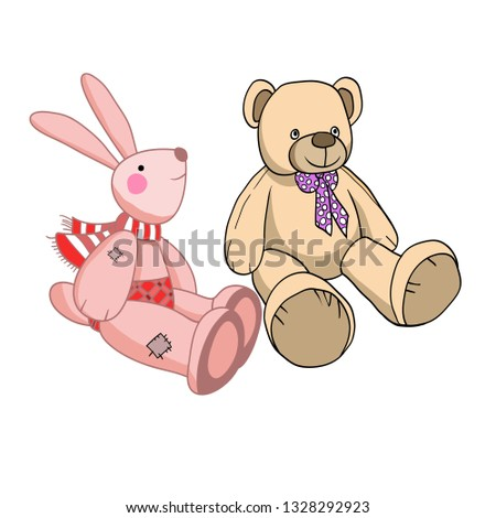 stock-vector-vector-illustration-drawing-teddy-bear-toys