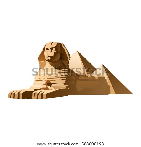 vector illustration egyptian