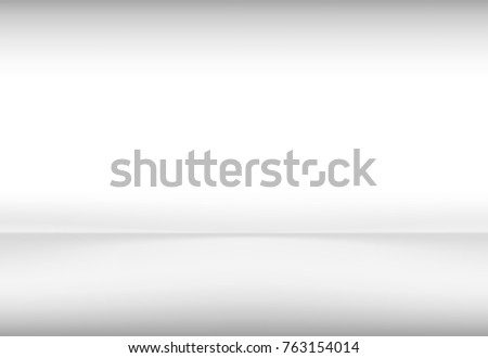 Vector illustration empty room  for your pictures and text.Grey Gradient abstract background.