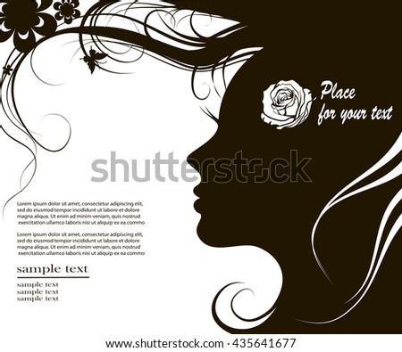 vector illustration female