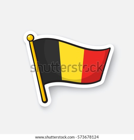 vector illustration flag of