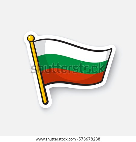 vector illustration flag of