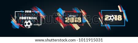 vector illustration football