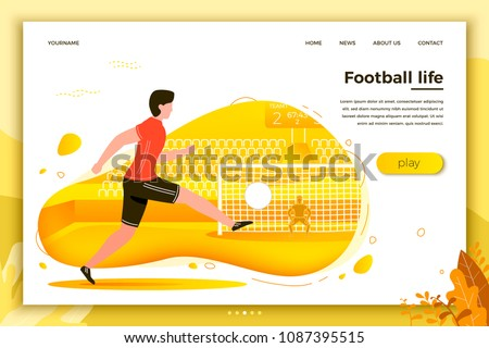 vector illustration   football