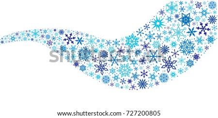 vector illustration for blue