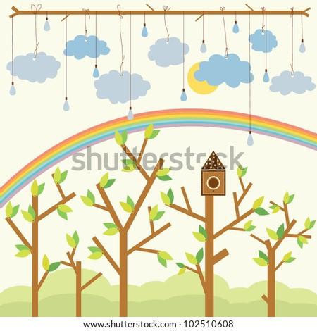 vector illustration for kids of