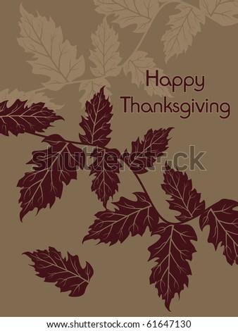 vector illustration for thanksgiving day celebration - stock vector