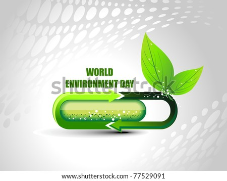 vector illustration for world environment day celebration