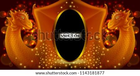 vector illustration frame to