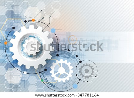 vector illustration gear wheel
