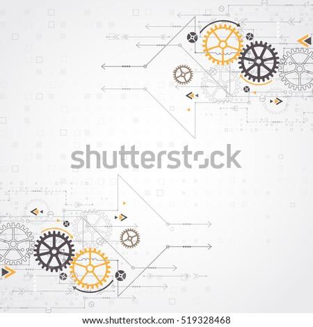 vector illustration gear wheel