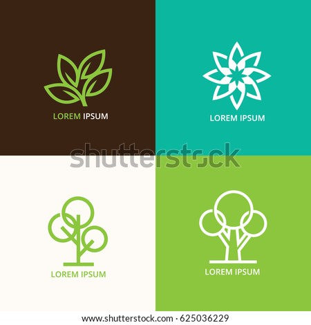Vector Illustration : Generic Logo Vector nature