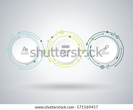 Vector illustration global social media concept. Abstract technology communication design