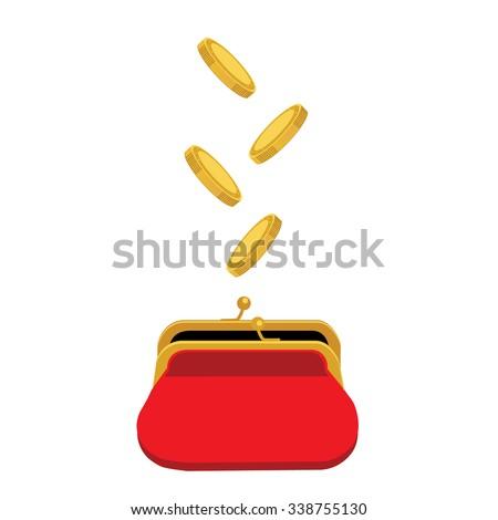 vector illustration golden...